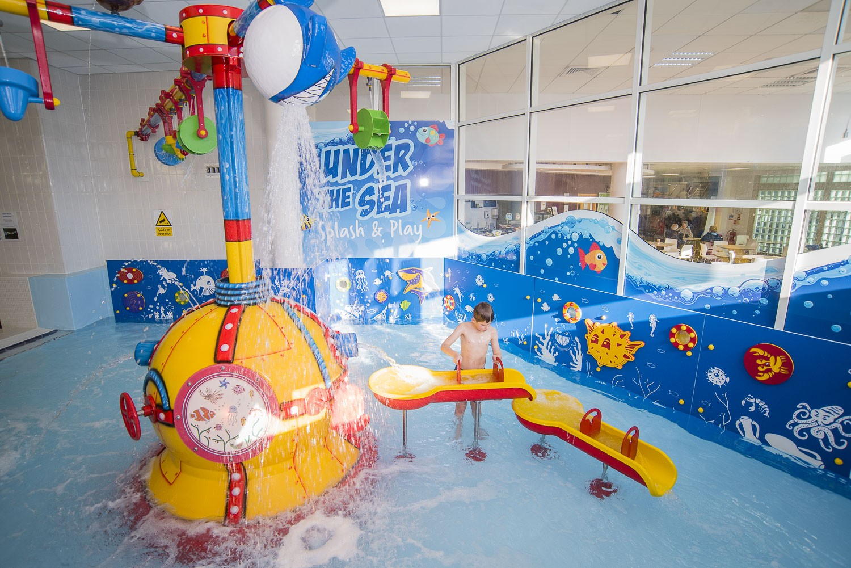 Waterball and Splash Toys for Basingstoke Aquadrome