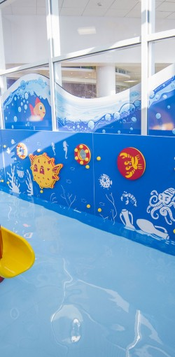 Sensory Play Panels - Basingstoke Aquadrome