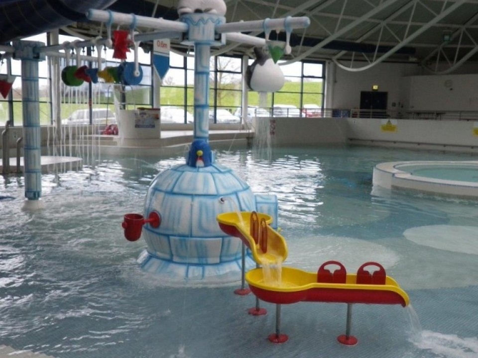 Hippo Expand Quot Arctic Quot Themed Water Factory At Maidstone