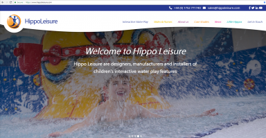 Hippo Leisure Launches New Website