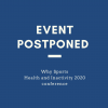 Why Sports Health and Inactivity 2020 Conference Postponed
